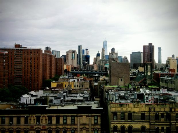 View of the Lower East Side