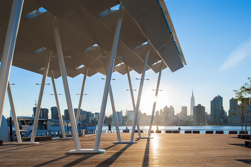 Manhattan view from Long Island City