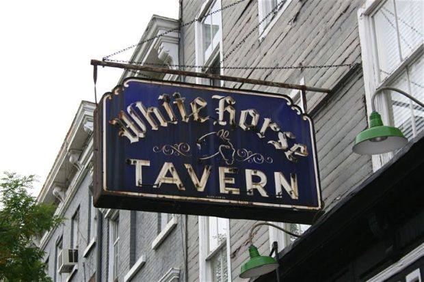 A variety of famous Dylans have supped in the White Horse Tavern. New York City