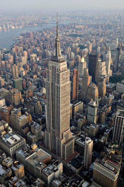 te Building in New York City