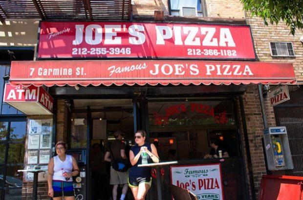 Joe's Pizza in New York City