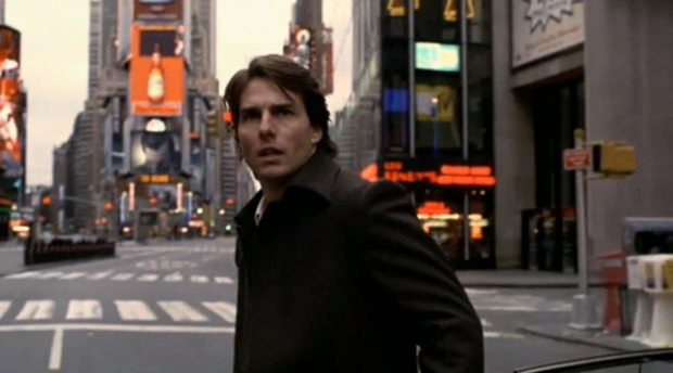 "Shot from the film ""Vanilla Sky"""