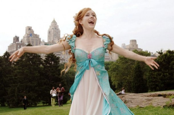 """Shot from the film """"Enchanted"""""""