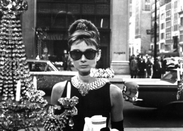 "Shot from the film ""Breakfast at Tiffany's"""