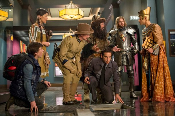 """Shot from the film """"Night at the Museum"""""""