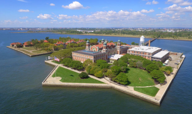 Ellis Island in New York City