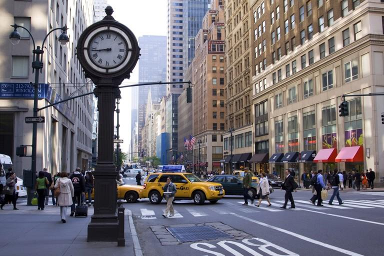 5th Avenue, New York City, Manhattan, USA.