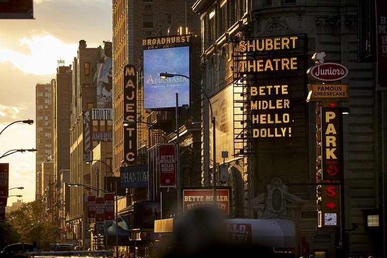New York City, Manhattan, theatre district of Broadway