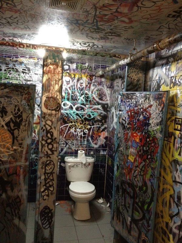 Public toilet in NYC