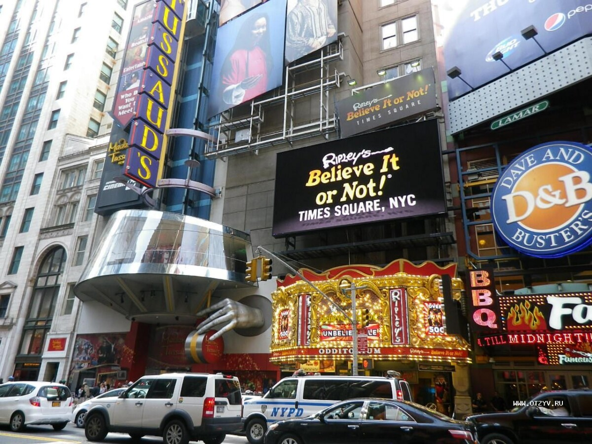 Times Square Comedy clubs