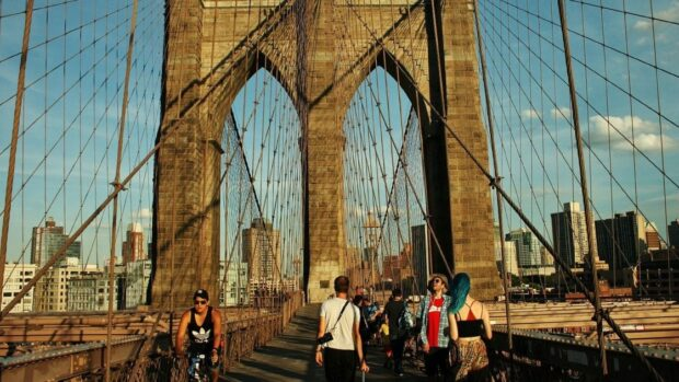 The Brooklyn Bridge - The beautiful, oldest, iconic