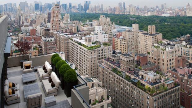 Roof Gardens in New York