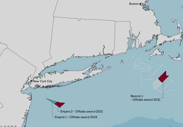 Equinor Wins Contract for Large Offshore Wind Farms in New York