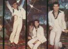 "1977: John Travolta in the movie ""Saturday Night Fever"""